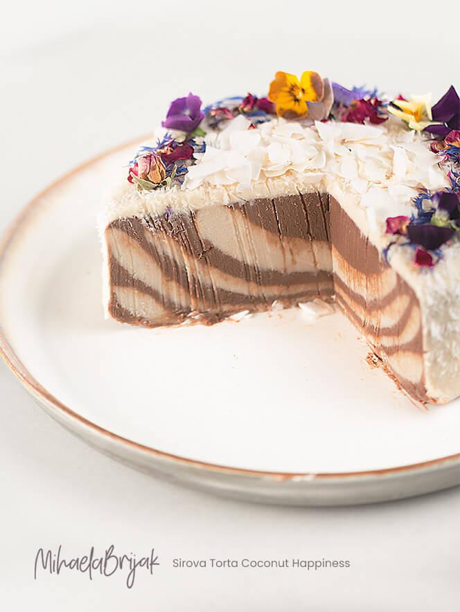 Sirova Torta Coconut Happiness