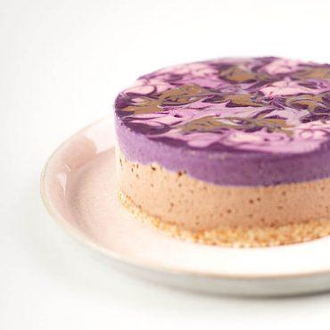 Sirova Torta od čokolade i borovnica - Paleo