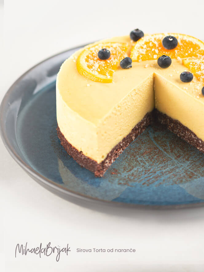 Sirova Torta od naranče